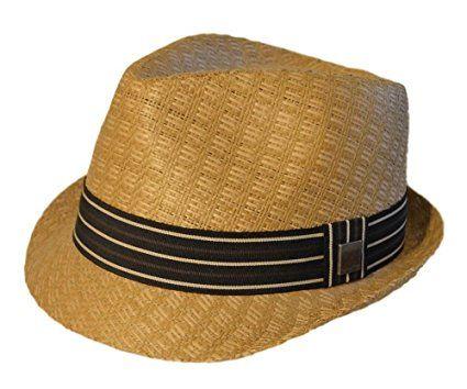 Country Gentleman Mens Joey Snap Brim Braided Fedora Hat Fedora