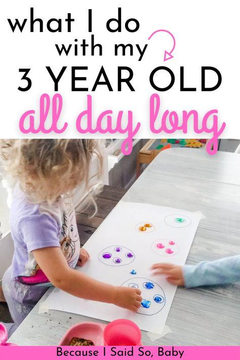 Activities With 3 Year Olds, Preschool Activities At Home, Homeschool Preschool Curriculum, Preschool Schedule, Preschool Prep, Fun Activities For Toddlers, Kids Schedule, Toddler Preschool, 3 Year Old Craft