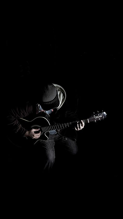 Free download the Out The Dark Guitar Player Music wallpaper ,beaty your iphone . #dark #art #music #guitar #player #Instrument #Wallpaper #Background #iphone