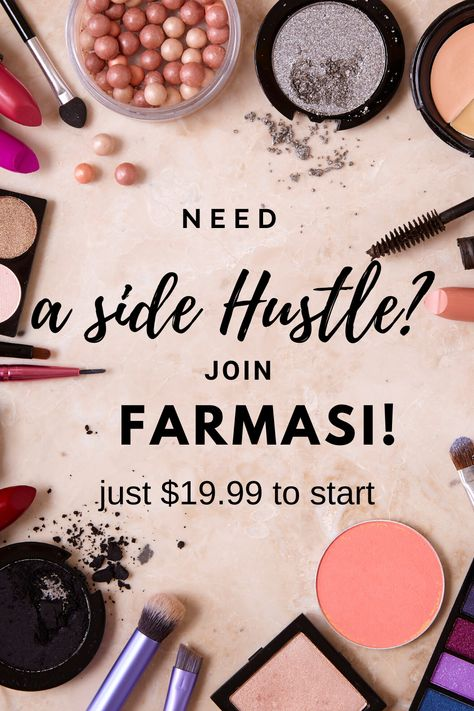 Farmasi Cosmetics, Make Money Now, Makeup Samples, Beauty Consultant, Body Butter, Best Makeup Products, Hustle, Canning, Join