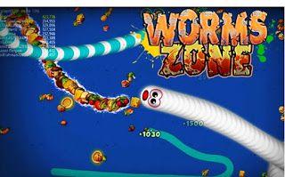 Download Worms Zone Mod Apk Full Unlocked Game Cacing Versi Terbaru Aplikasi