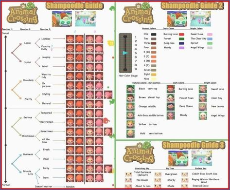 Animal Crossing New Leaf Friseur Haare Jull Jungs Frisuren