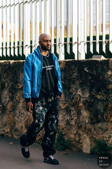 Paris SS 2019 Street Style: Virgil Abloh - STYLE DU MONDE | Street Style Street Fashion Photos Virgil Abloh