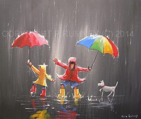 Kézzel festett vászon festmény