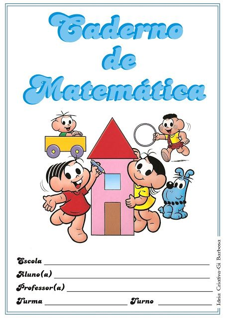 Pin De Marina Em Escola Iii Turma Da Monica Colorir Capa