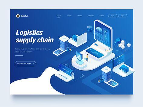 supply chain Web design 2