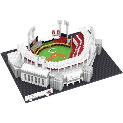 7d40ff334ef Cincinnati Reds Great American Ballpark MLB 3D BRXLZ Stadium Blocks ...