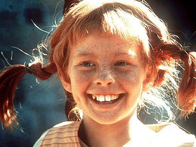 Pippi Longstocking.  Remember her?!