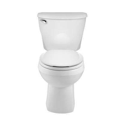 Reliant 10 In Rough In 2 Piece 1 28 Gpf Single Flush Round Toilet In White In 2019 Toilet Home Depot American Standard