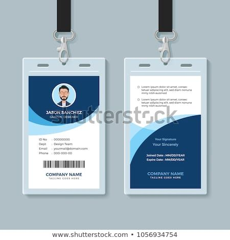 Office Id Card Template Perfect For Any Types Of Agency Corporate Offices And Companies You Can Also Used Employee Id Card Employees Card Id Card Template