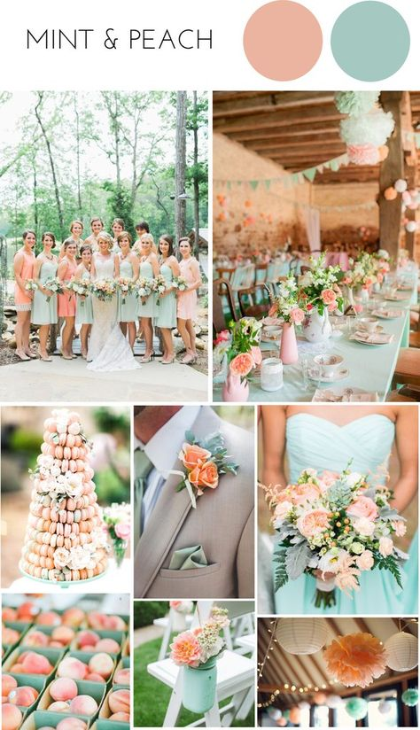Mint Wedding Themes, Pastel Wedding Colors, Wedding Mint Green, Wedding Stage Decorations, Cute Wedding Ideas, Wedding Color Schemes, Mint Weddings, Wedding Deco Ideas, Wedding Colours Summer