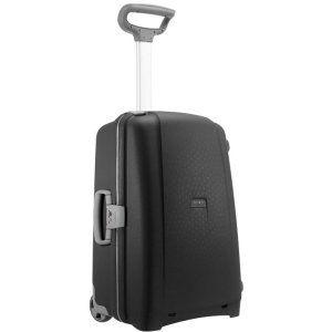 EU限定 サムソナイト フレームタイプ エアリス Mサイズ 64cm 64.5L 2輪 ブラック 無料受託手荷物サイズ 国内旅行 出張 スーツケース キャリーケース