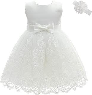 Suchergebnis Auf Amazon De Fur Kinderkleid Langarm In 2020 Blumenmadchenkleid Taufkleid Taufkleid Baby Madchen