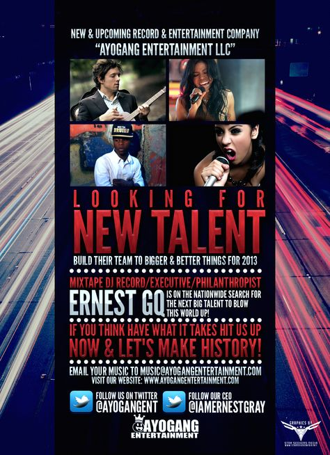 Talent Search Event Flyer Designed by ssmgfx contact dionamar - talent show flyer