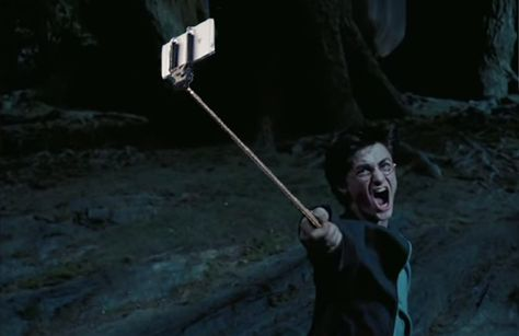 Ready to lose all respect for some of the toughest movie characters? Here's what happens when you swap out their guns for selfie sticks.