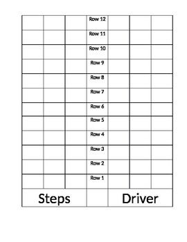 Bus Seating Chart Template In 2020 Seating Chart Template Chart
