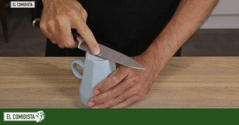 El Comidistest Que Truco Para Afilar Cuchillos Funciona Mejor Afilador De Cuchillos Cuchillos Y Trucos