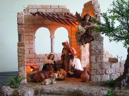 Mejores 2402 imágenes de pesebre en Pinterest   Belenes de navidad ...
