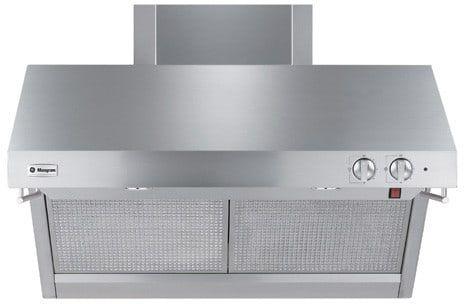 Monogram 36 Wall Mount Canopy Pro Style Range Hood Stainless Steel Zv36rsfss Kitchen Built In Refrigerator Wall Mount Backsplash