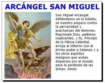 Oraciones A San Miguel Arcángel Dear God Prayers Novena
