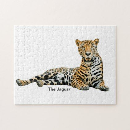 6d4ab2fd Jaguar image for Puzzle | Zazzle.com | home gifts | Jaguar, Gifts ...