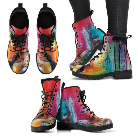 Yellow Cab Soldier Damen Combat Boots #damen #frau #schuhe