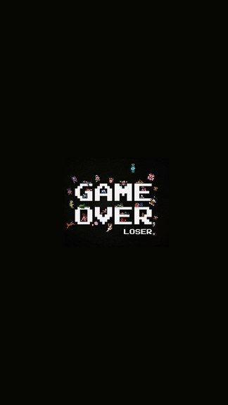 Game Over Wallpaper In 2020 Anime Wallpaper Iphone Computer