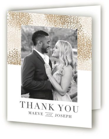 Organic Dots Thank You Cards Wedding Thank You Cards Wedding Thank You Thank You Cards