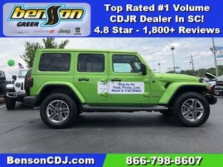 New 2019 Jeep Wrangler Unlimited Sahara 4x4 For Sale In Greer Sc