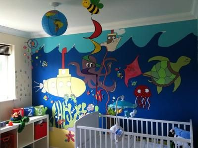 Under The Sea Nursery It Was My Husband S Idea To Have An
