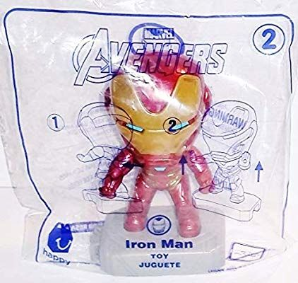 Mcdonald S 2019 Avengers Iron Man Happy Meal Toy Happy Meal Toys