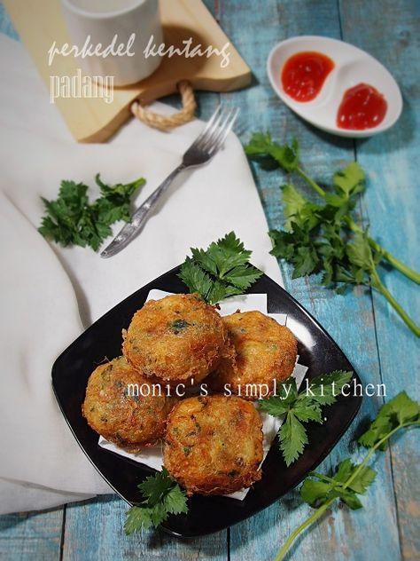 Perkedel Kentang Padang Kentang Masakan Vegetarian Resep Masakan