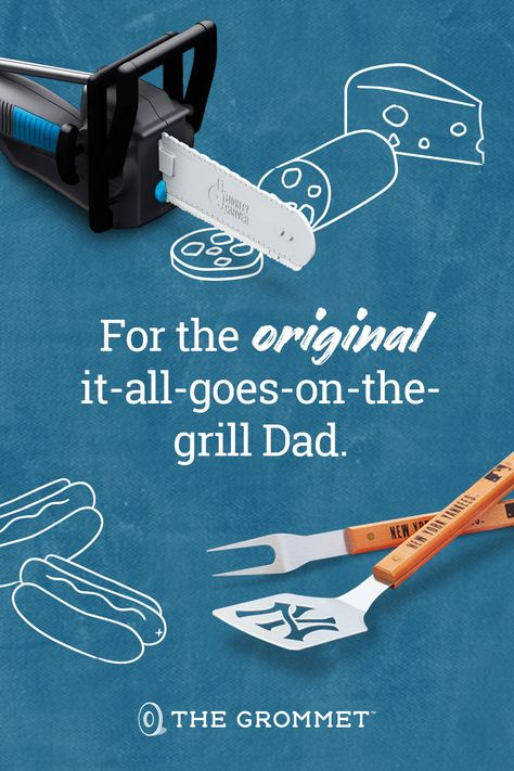 Show Dad he's an original with these perfect gifts for your favorite chef and grill master.