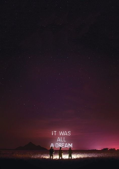 IT WAS ALL A DREAM - 16.6x23.5 (edition of 25) / White