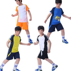 New Design Kid Soccer Jersey Sport Wear School Running Short Youth Comfortable Cheap China Soccer Uniform In 2020 Sport Wear Soccer Uniforms Kids Soccer