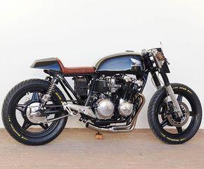 CB750KZ Honda | Bikes | Cb750 cafe racer, Cafe racer honda, Cafe