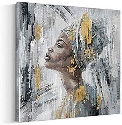 Amazon Com Crescent Art Framed African American Black Art Dancing Black Women In Dress Wall Art Painting On Canvas Wall Art Painting Canvas Painting Painting