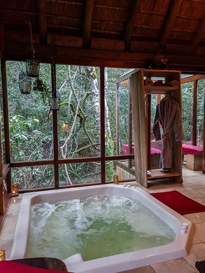Jacuzzi In A Forest Spa Trogon Forest Resort Forest Cabin Tree House