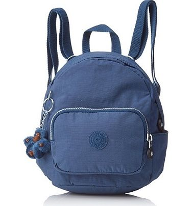 Mochila Kipling azul Mini Backpack. Descuento del 33