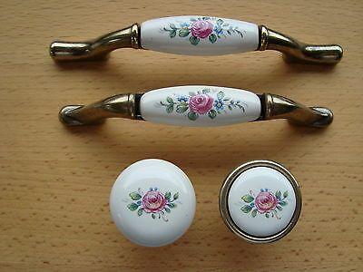 Porzellanknöpfe Porzellangriffe Möbelgriffe Porzellangriff Porzellan Möbelgriff