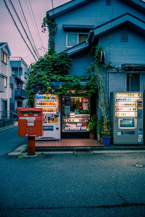 Kanagawa - I like the randomness of the vending machines in a quiet neighbourhood. Wish we had that in my country.