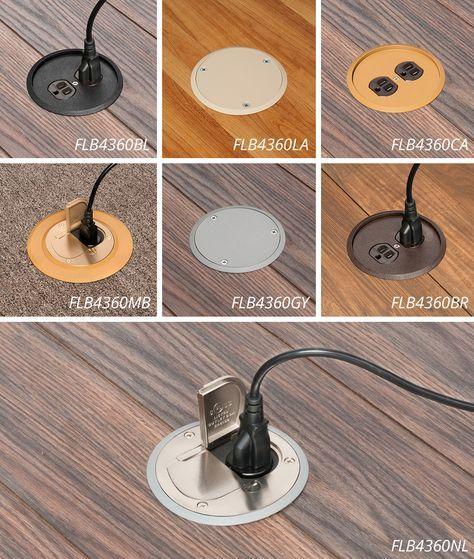 Floor Boxes Flip Up Lids Prevents Losing The Screw Top Type Lids Floor Outlets Floor Electrical Outlet Floor Outlets Electrical Outlets Floor Boxes