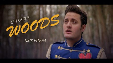 """Nick Pitera """"Out of the Woods"""" screen shot. ❤️"""