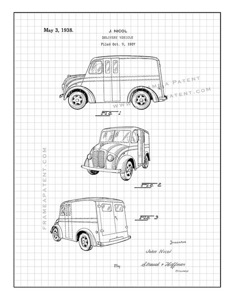 Willys Jeep Patent