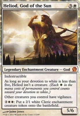 Heliod God Of The Sun Theros Magic The Gathering Cards Magic