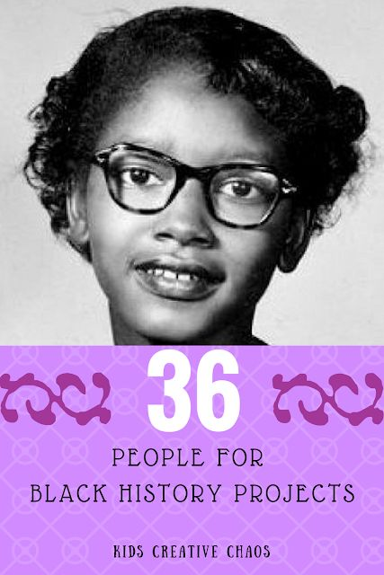 36 Black History Month People for Lessons