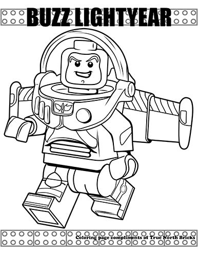 Coloring Page Buzz Lightyear Coloring Pages Lego Coloring