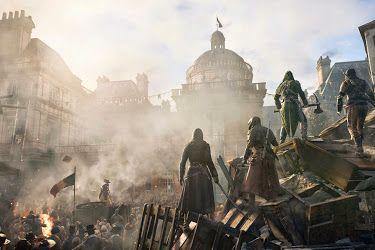 Assassin S Creed Unity Multilenguaje Español Pc Update 1 4 Dead Kings Dlc Reloaded Assassin S Creed Hd Assassin S Creed Wallpaper Assassins Creed Unity