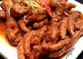 Resep Ceker Dimsum Uenaaakkk Oleh Amei Resep Resep Resep Masakan Resep Masakan Indonesia