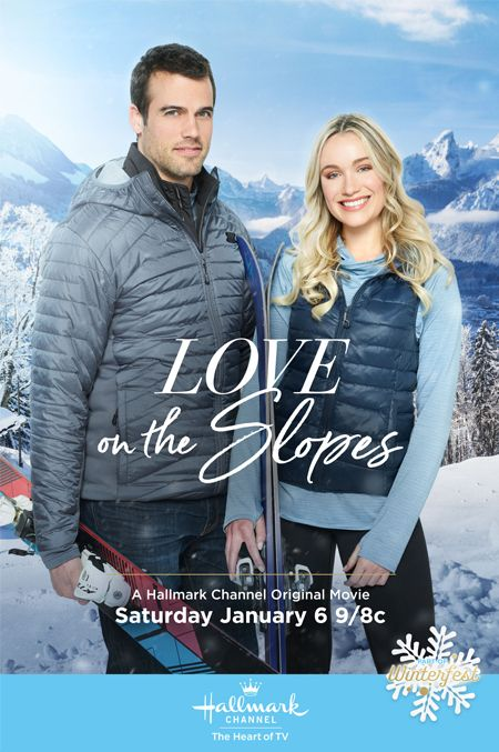 Its A Wonderful Movie Your Guide To Family And Christmas Movies On Tv Love On The Slopes A Hallmar Winter Movies Hallmark Movies Hallmark Christmas Movies